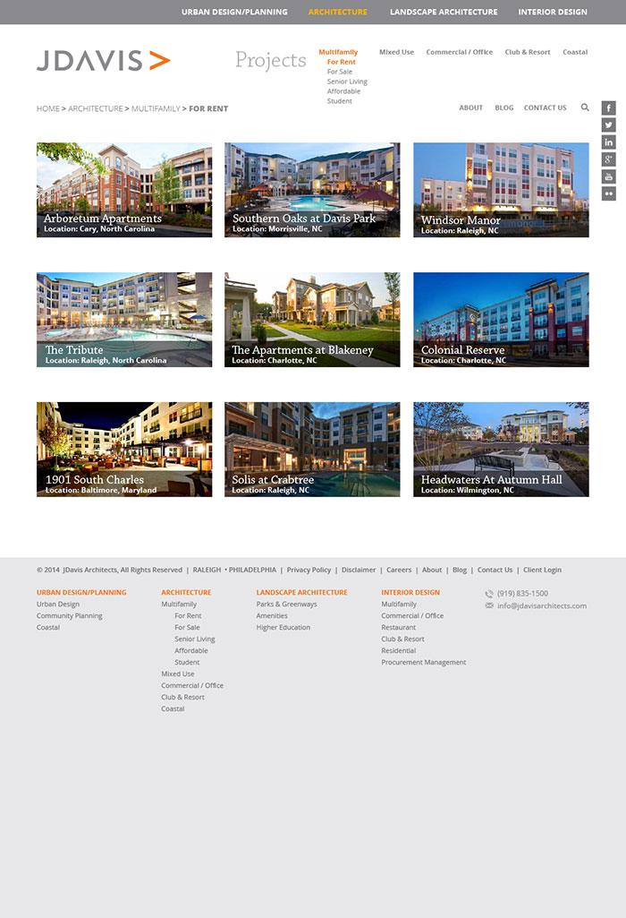 JDavis Architects Portfolio Page